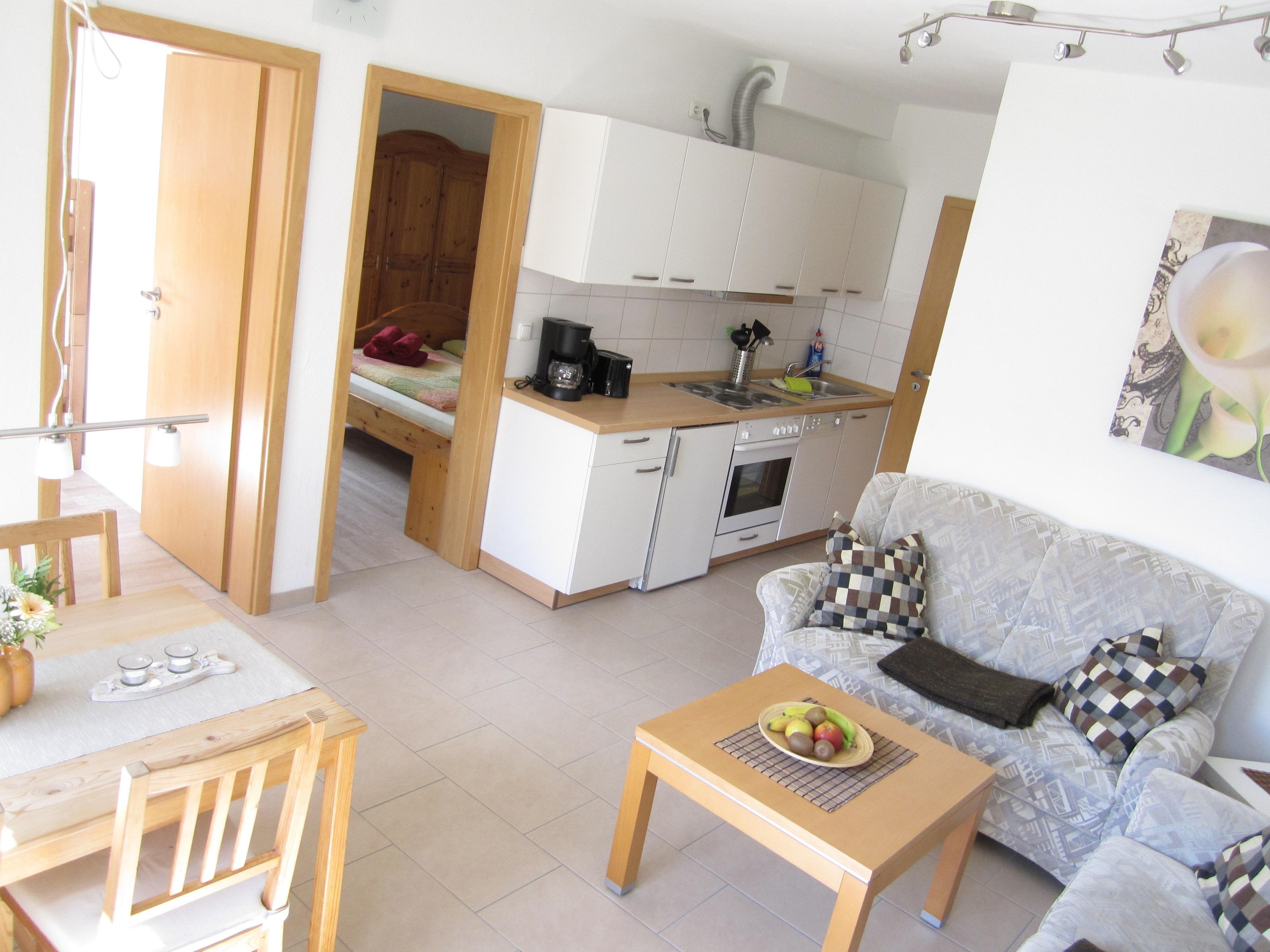 haus wohnzimmer oben:Haus BeLa auf Amrum » Wohnung 5